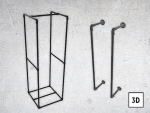 Brennholz-Ständer