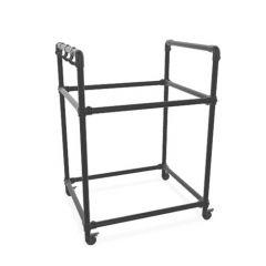 BBQ-Möbel Gamba | Schwarz 33,7 mm | Rad | DIY
