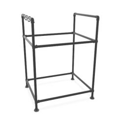 BBQ-Möbel Guacamole | Schwarz 26,9 mm | Fuß | DIY