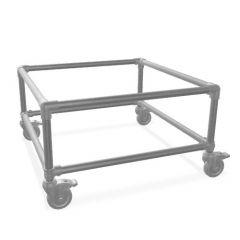 Beistelltisch Gerlos Duo | Stahl 26,9 mm | Rad | DIY