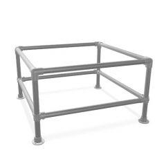 Beistelltisch Hinterglemm Duo | Stahl 26,9 mm | Fuß | DIY
