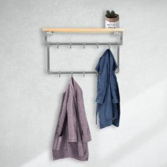 Garderobenstange Bath | Stahl 26,9 mm | Wand | DIY