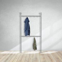 Garderobenständer Chester | Stahl 33,7 mm | stehend | DIY