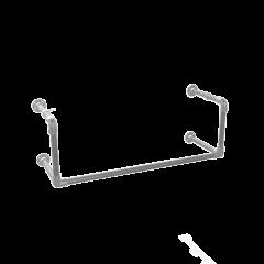 Kapstok Manchester | Staal 26.9 mm | Wand | DIY