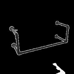 Kapstok Manchester | Zwart 26.9 mm | Wand | DIY