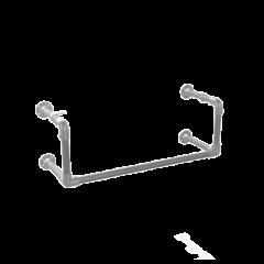 Kapstok Manchester | Staal 33.7 mm | Wand | DIY
