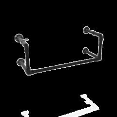 Kapstok Manchester | Zwart 33.7 mm | Wand | DIY
