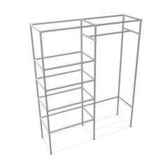 Regal Agrinio | Vierkantstahl 25x25 mm | Stehend | DIY