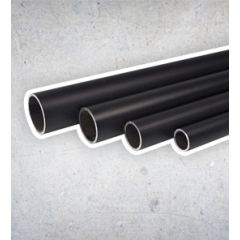 Stahlrohr Schwarz - 42.4 mm