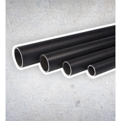 Stahlrohr Schwarz - 33.7 mm