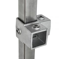 Hoekstuk - vierkant (40mm)