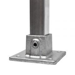 Vierkante Voetplaat - vierkant (40mm)