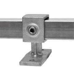 Leuningdrager - vierkant (40mm)