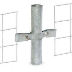 Buiskoppeling - Gaasclip Dubbel - 42,4mm