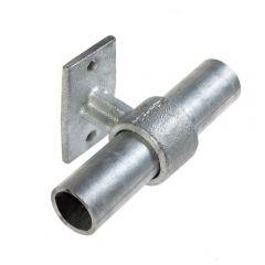 Buiskoppeling - Leuningdrager - 42,4mm