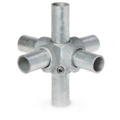 Buiskoppeling - 4-weg Kruisstuk - 42,4mm
