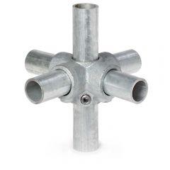 Buiskoppeling - 4-Weg Kruisstuk - 21,3mm