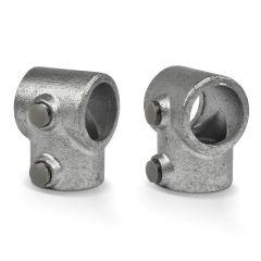 Verschlusskappe 42.4 / 48.3 / 60.3 mm - grau (25 Stück)
