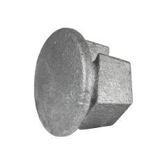 Metalen afdekdop (26,9)