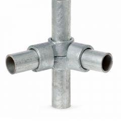 Buiskoppeling - Verstelbaar Hoekstuk - 42,4mm